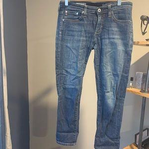 AG Stevie crop jeans in  26